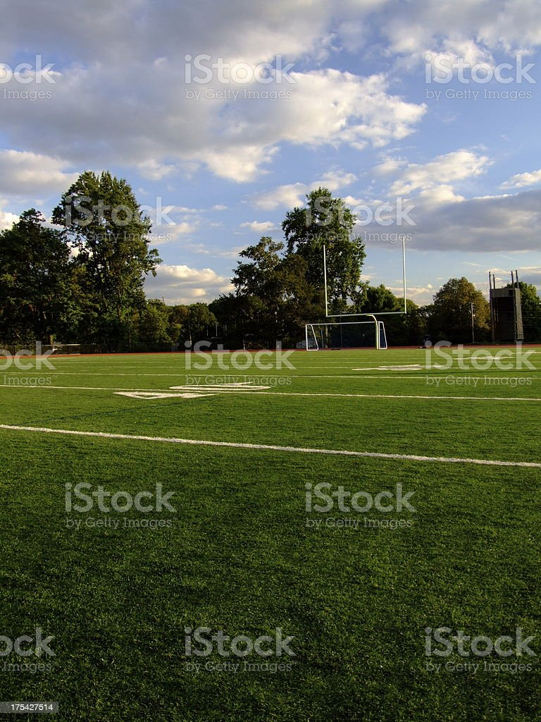 Field of Play royalty-free stock photo