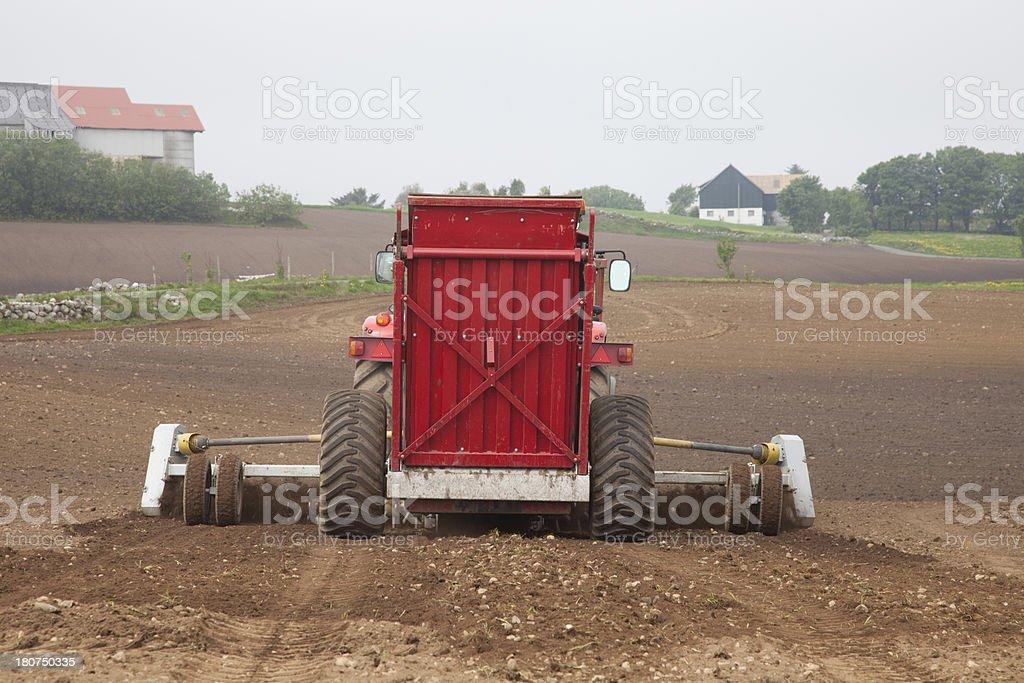 Field (Plowed) royalty-free stock photo