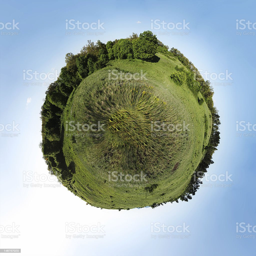 field planet royalty-free stock photo
