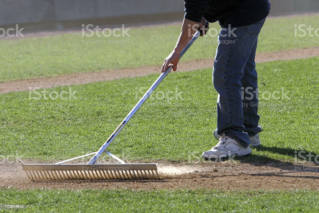 field prep royalty-free stock photo