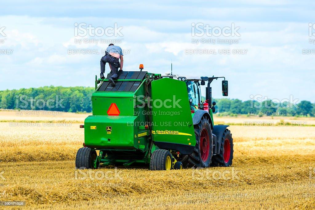 Field service stock photo