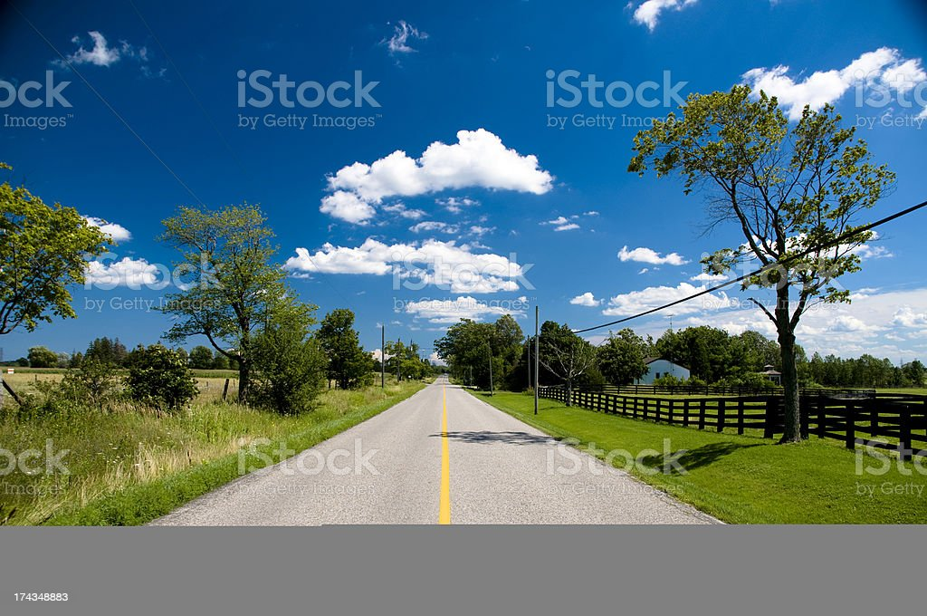Field & Sky royalty-free stock photo
