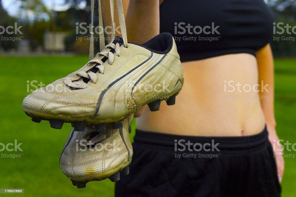 Field sport stock photo