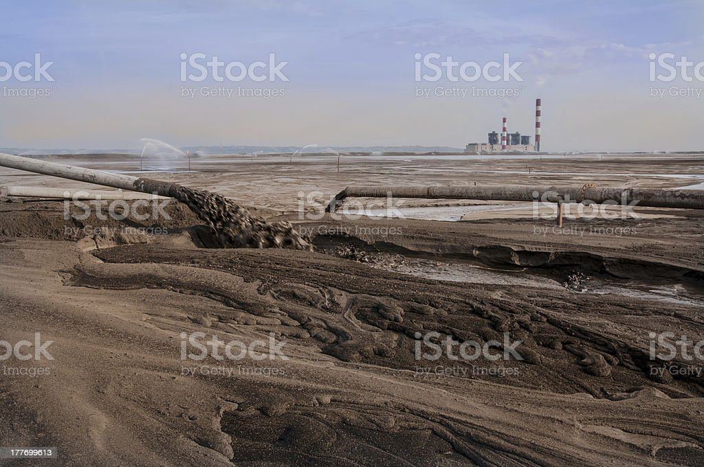 Fields of ash royalty-free stock photo