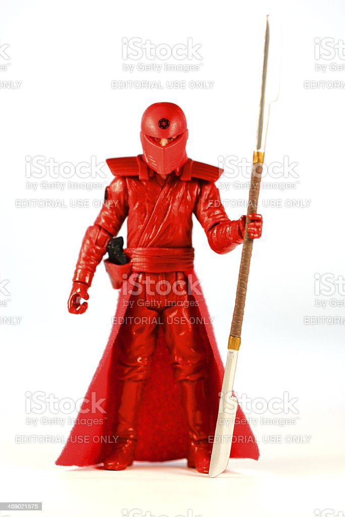 Fierce Red royalty-free stock photo