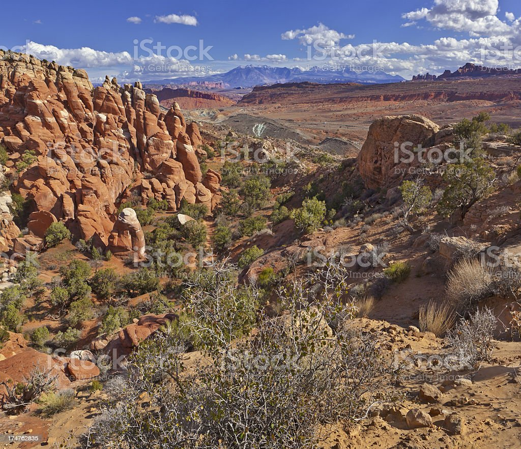 Fiery Furnace, Arches National Park royalty-free stock photo