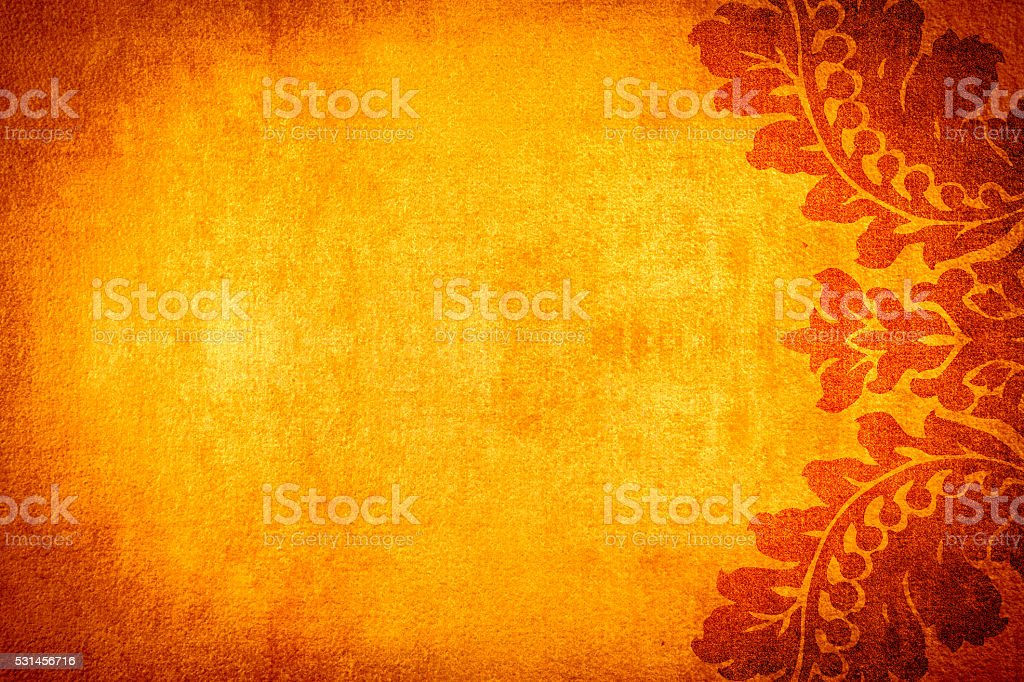 Fiery Orange Abtract Background stock photo