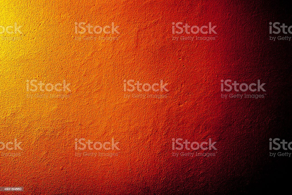 Fiery wall texture stock photo