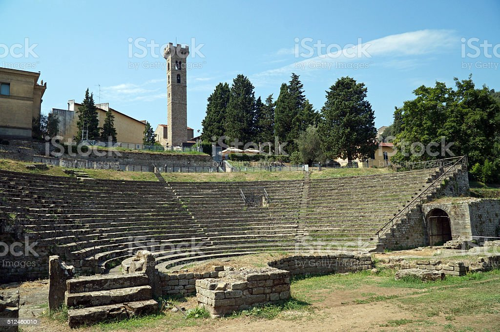 Fiesole, Tuscany, Italy stock photo