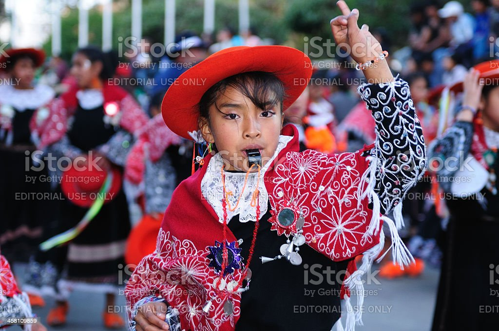Fiesta in South America royalty-free stock photo