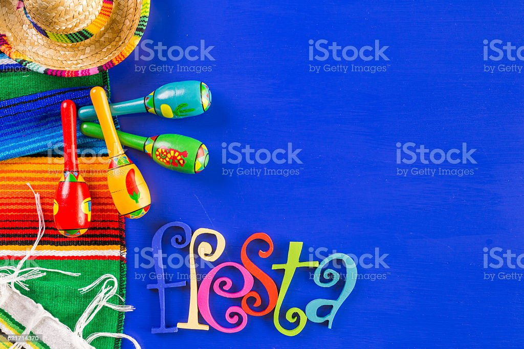 Fiesta stock photo