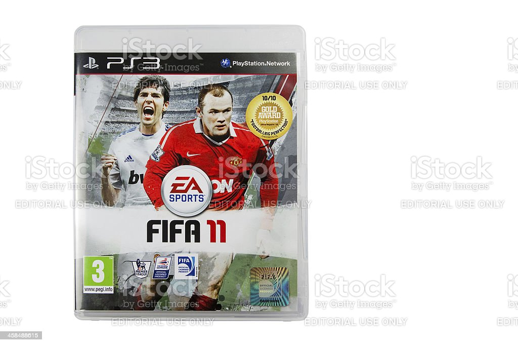 PS3 Fifa 2011 Game royalty-free stock photo