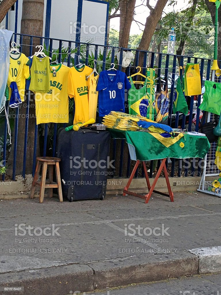 Fifa World Cup Brazil 2014 - Mobile Photography stock photo