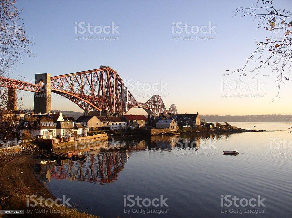 Fife Bridge (Scotland) royalty-free stock photo