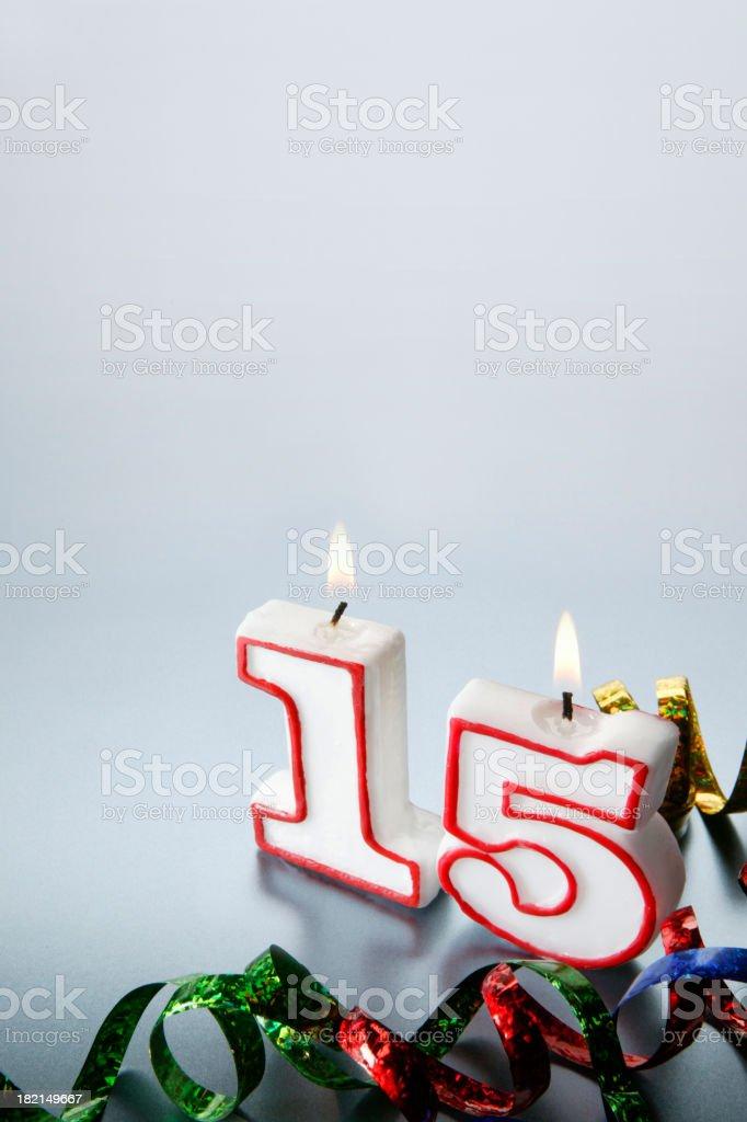 Fifteenth stock photo