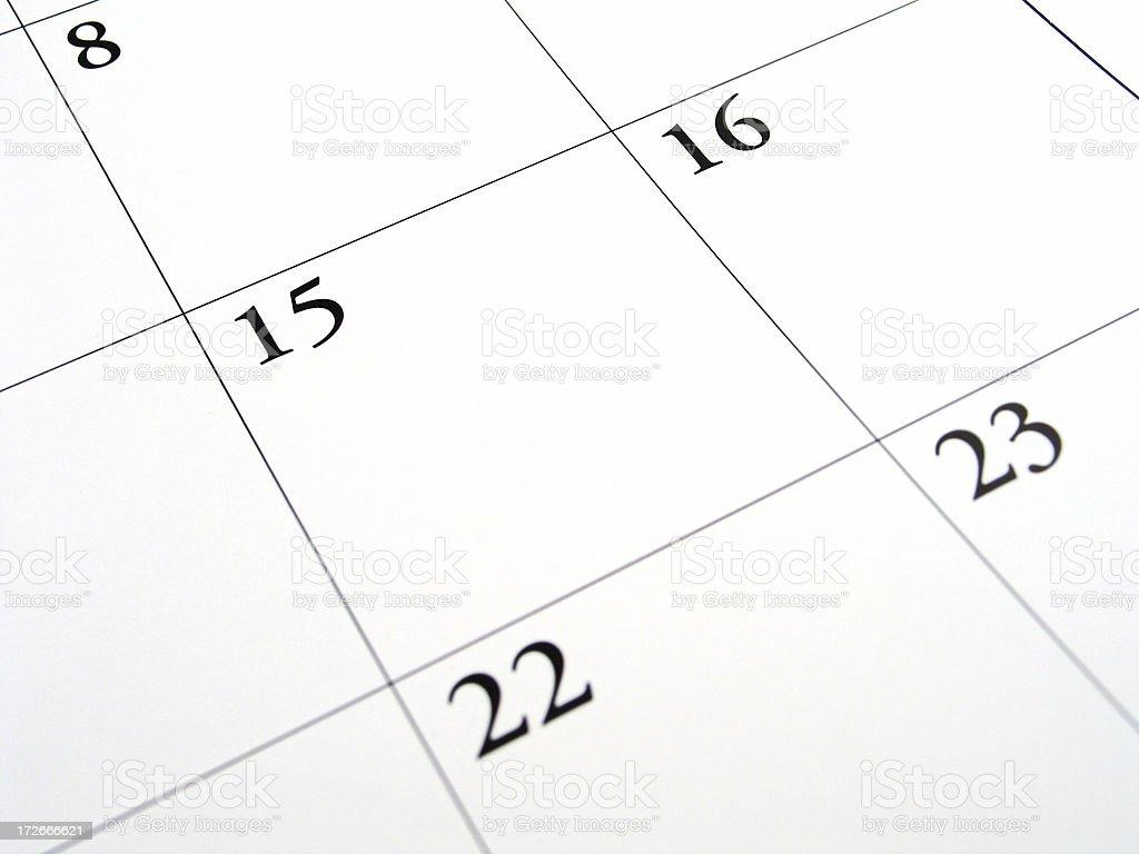 Fifteenth - Tax Day stock photo