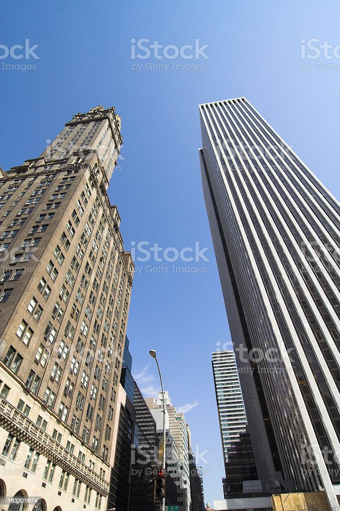 Fifth Ave Towers stock photo