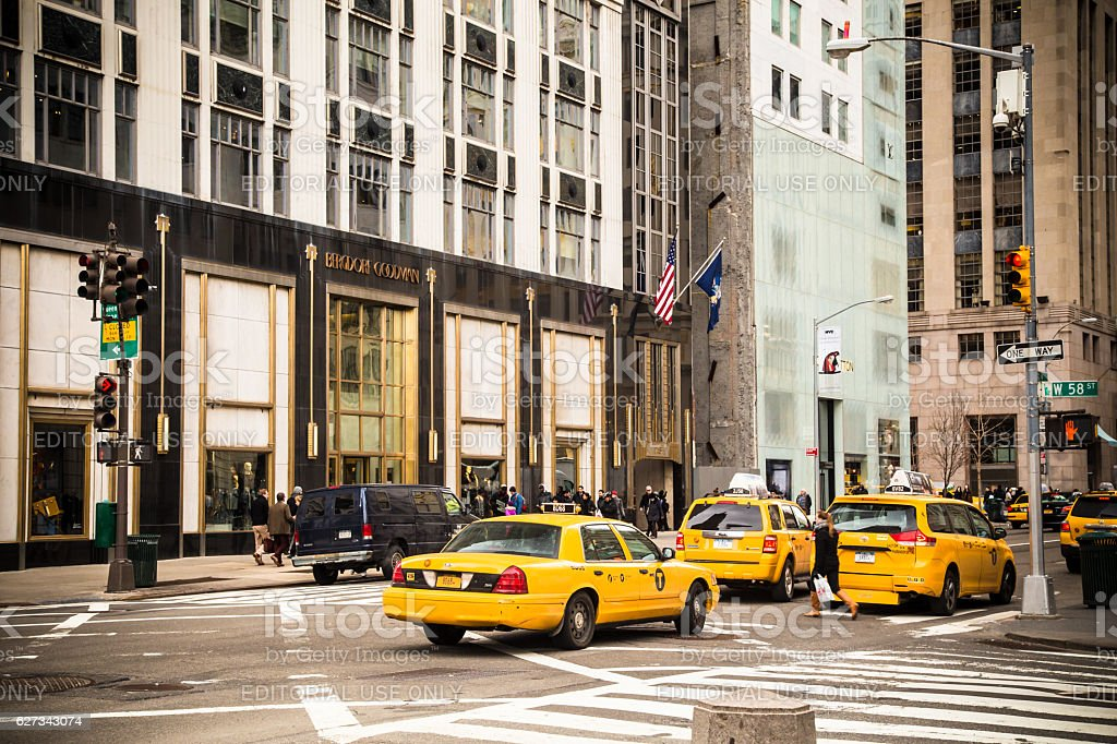 Fifth Avenue Manhattan stock photo