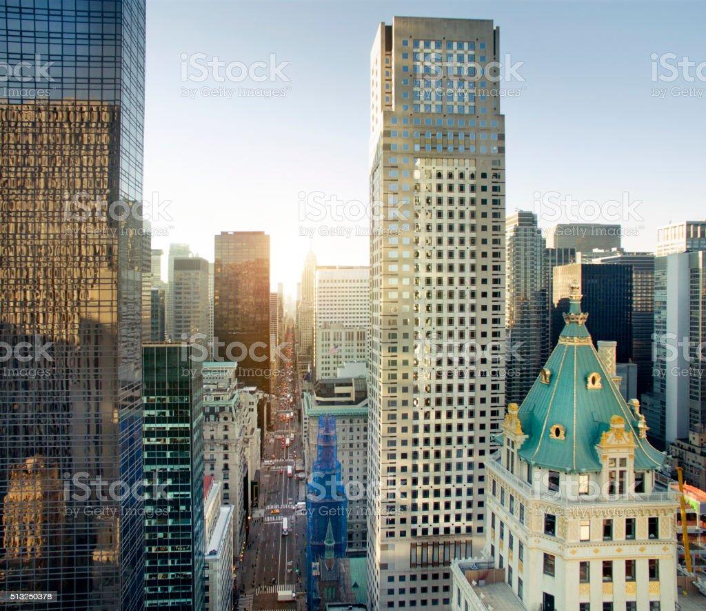 Fifth Avenue, New York City stock photo