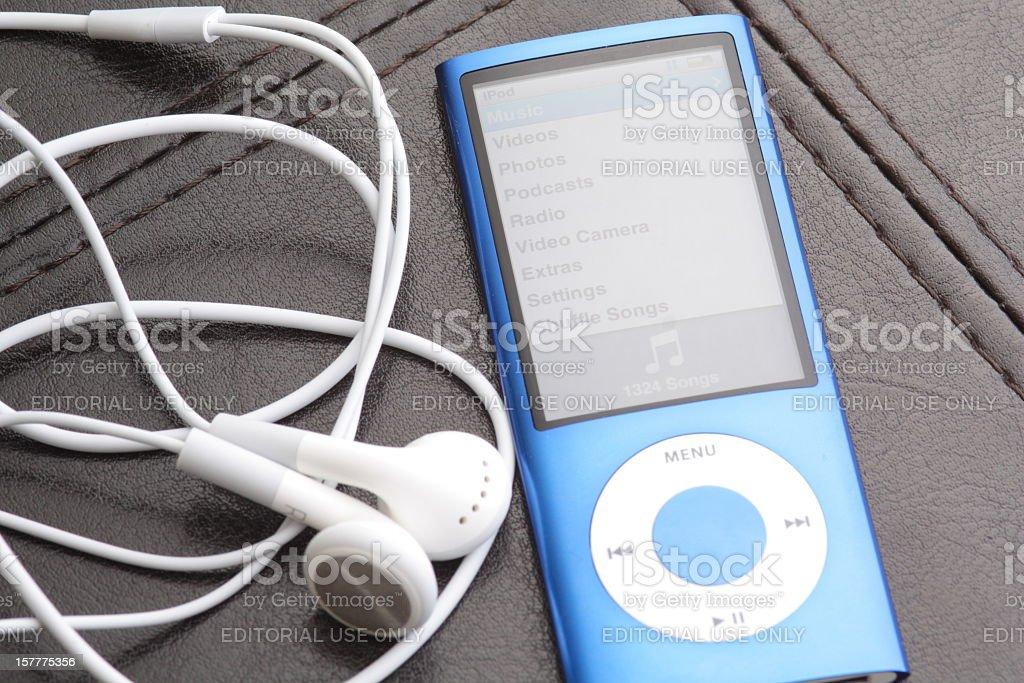 Fifth Generation iPod Nano royalty-free stock photo