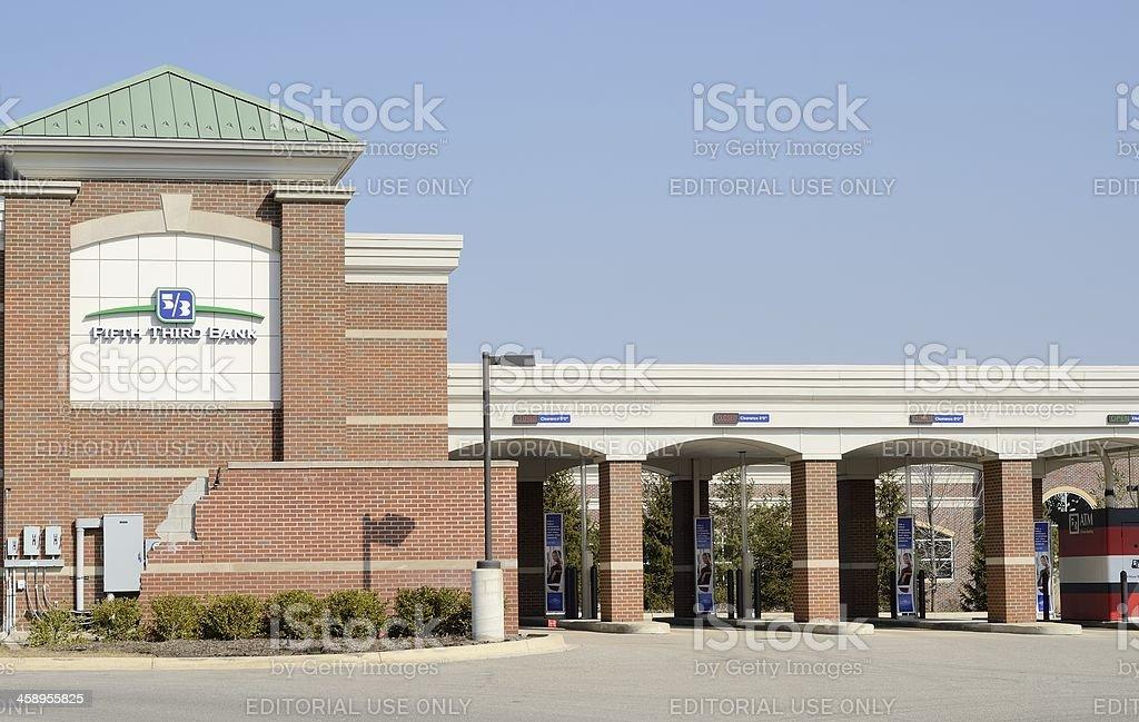 Fifth Third Bank stock photo