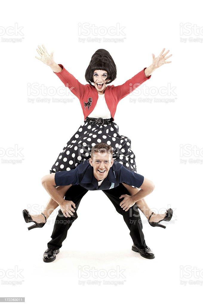 Fifties Dance stock photo