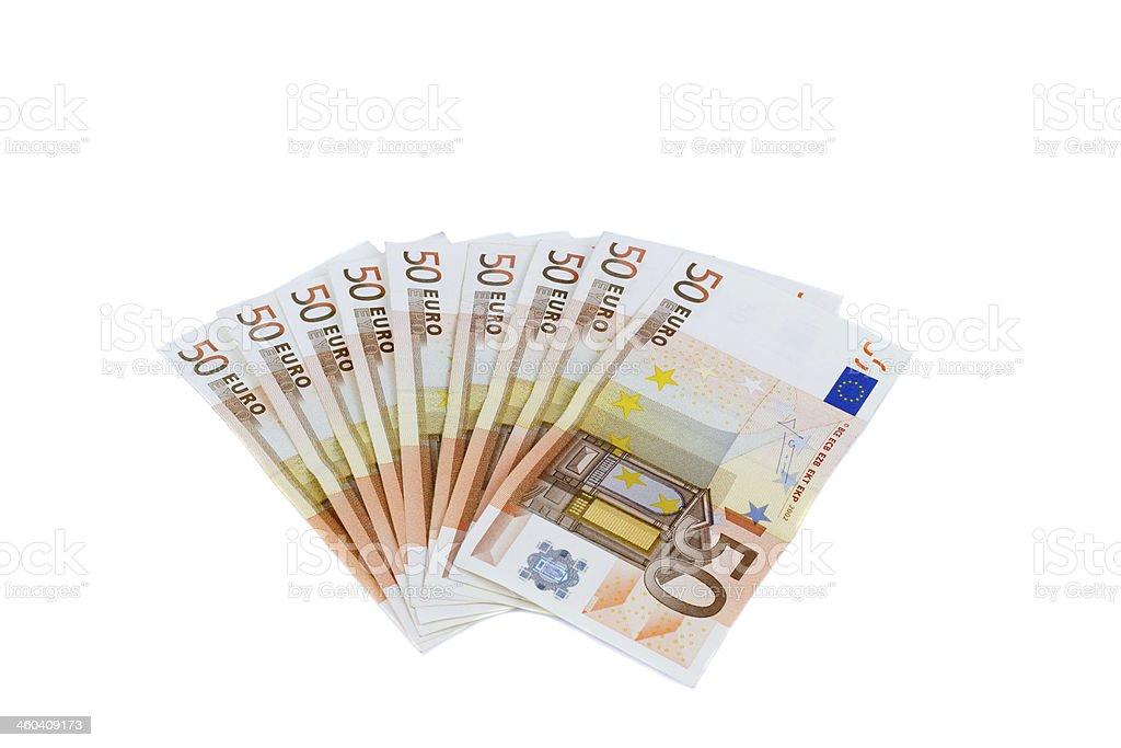 fifty euro stock photo