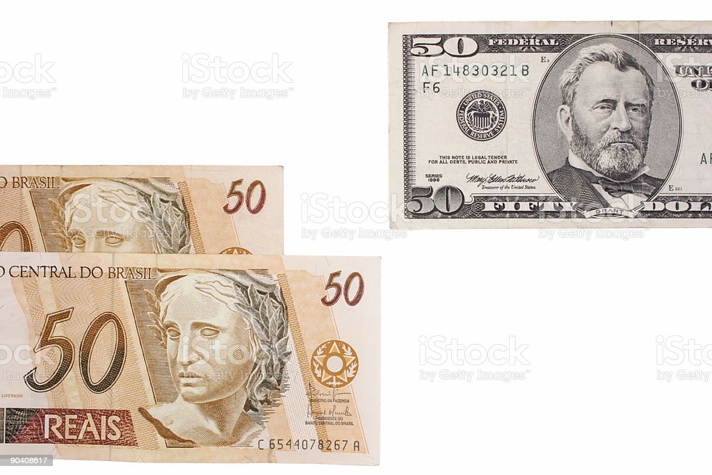 Fifty exchange royalty-free stock photo