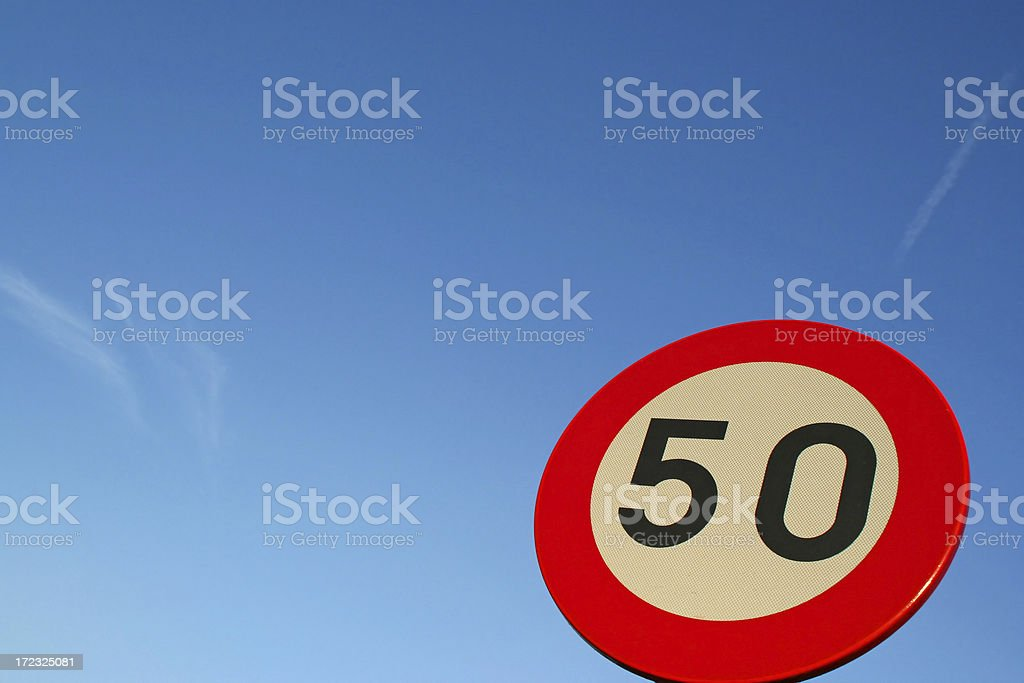 Fifty # 2 royalty-free stock photo