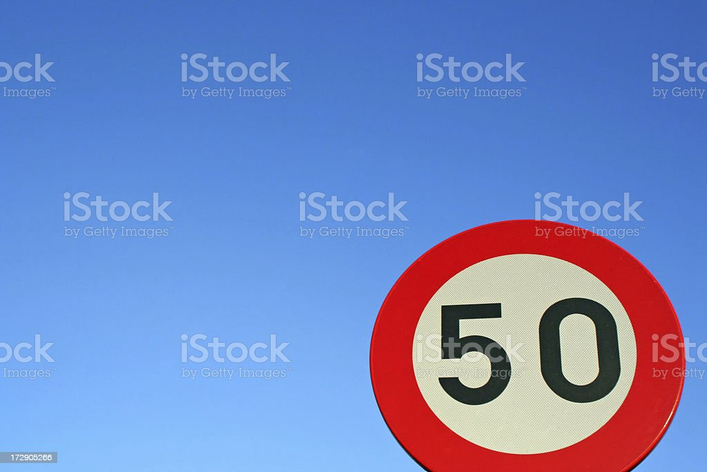 Fifty # 4 royalty-free stock photo