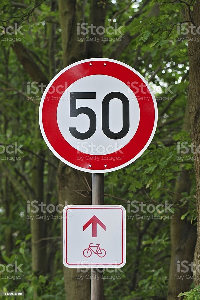 Fifty Round royalty-free stock photo
