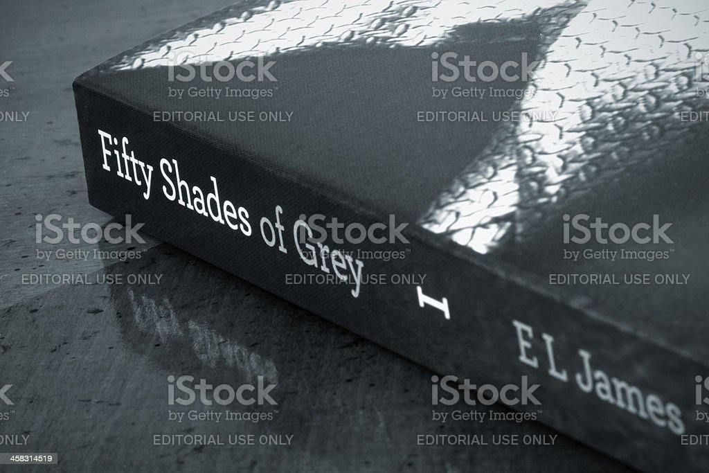 Fifty Shades of Grey stock photo