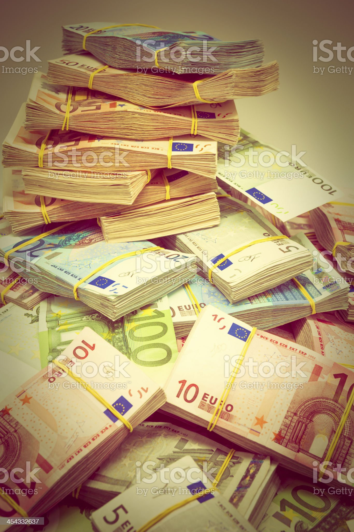 Fifty Thousand royalty-free stock photo