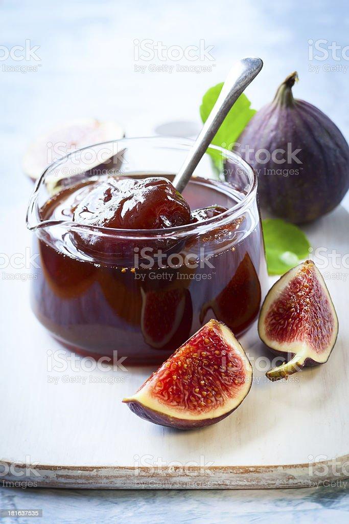 fig jam royalty-free stock photo