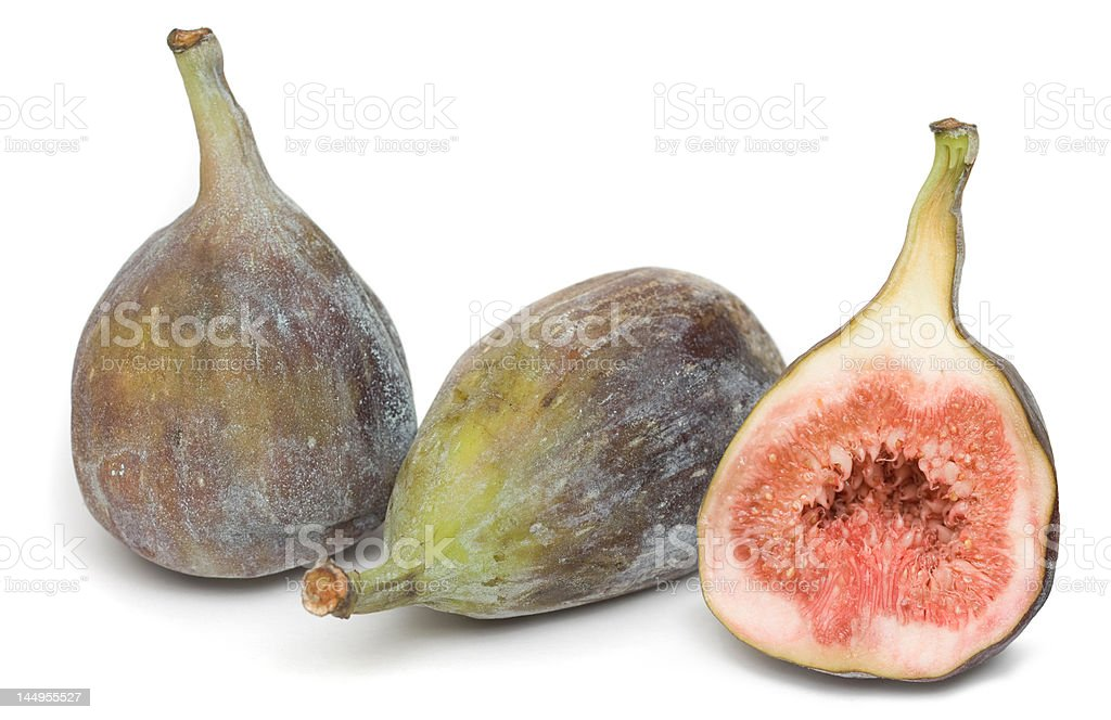 Fig  (Ficus carica) royalty-free stock photo