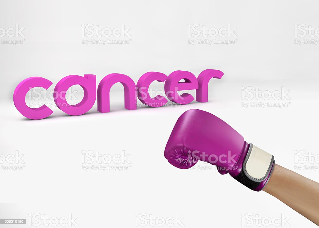 Fight Cancer stock photo