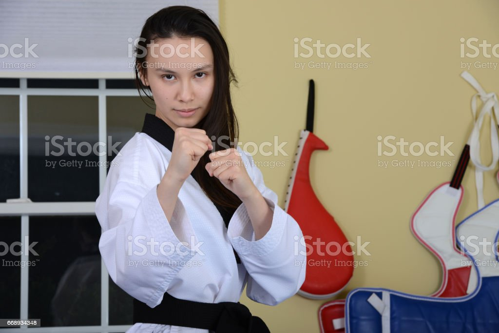 Fight Intent stock photo