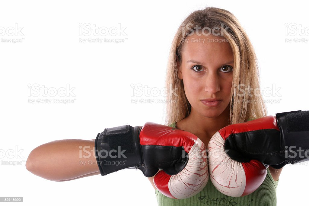 Fight me royalty-free stock photo