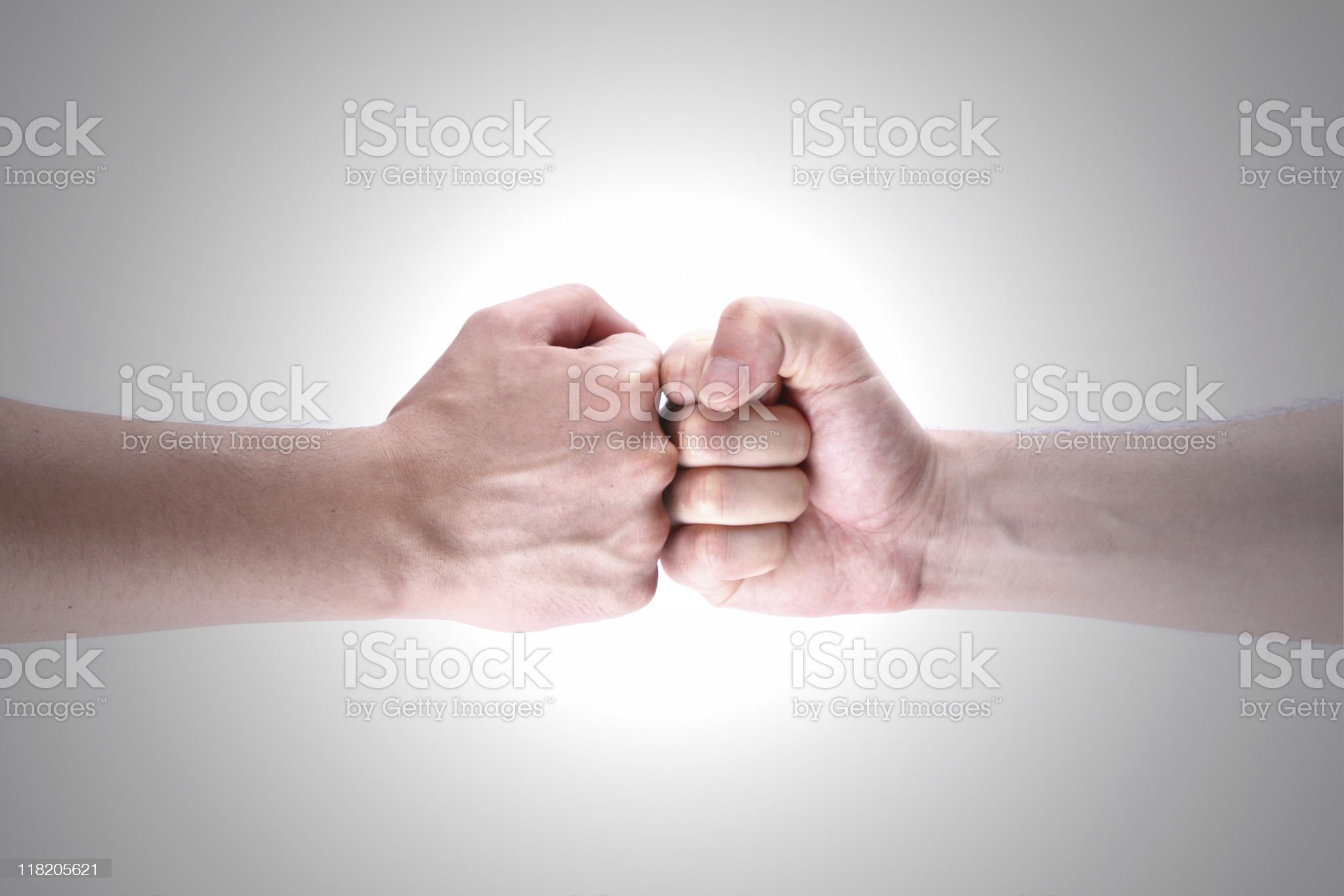 Fight royalty-free stock photo