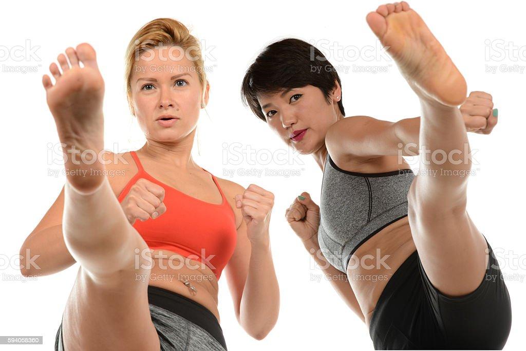 Fight School stock photo
