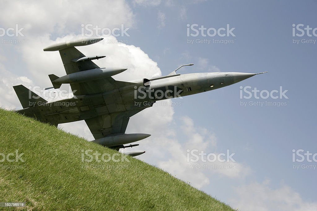 Fighter jet royalty-free stock photo