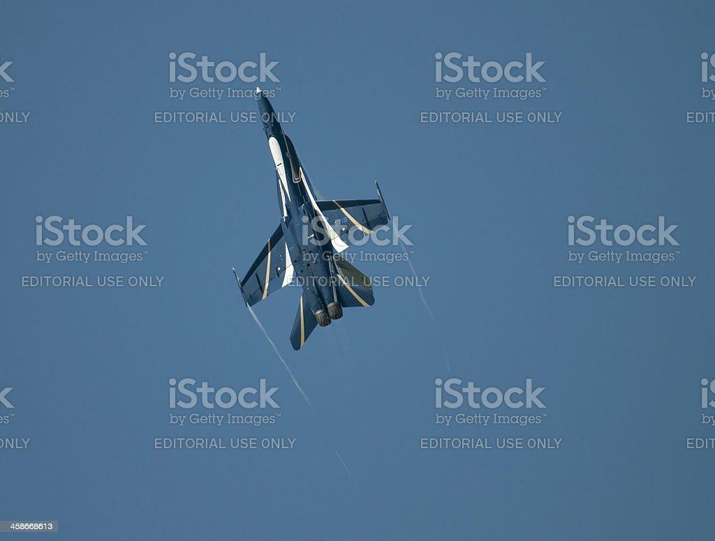 CF-18 Fighter Jet stock photo