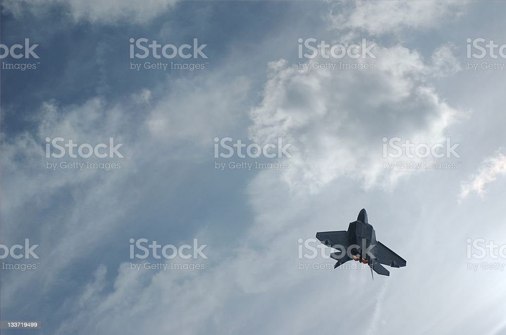 Fighter Jet Soars stock photo
