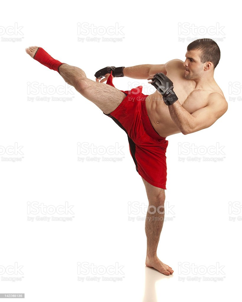 MMA Fighter stock photo