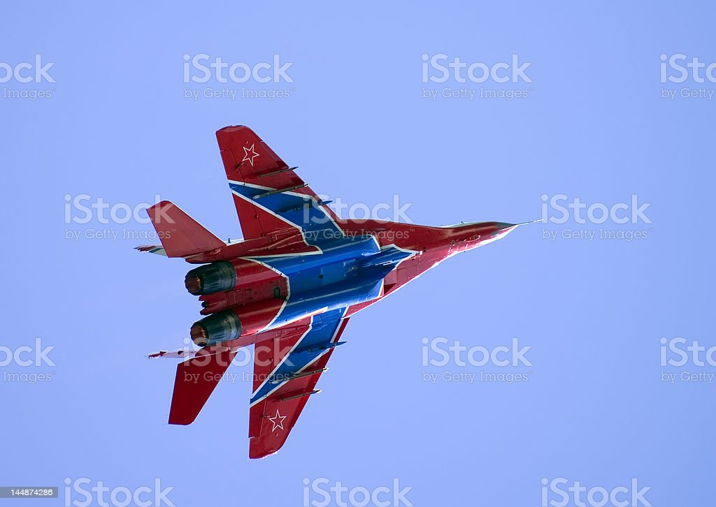 MIG 29 OVD Fighter stock photo