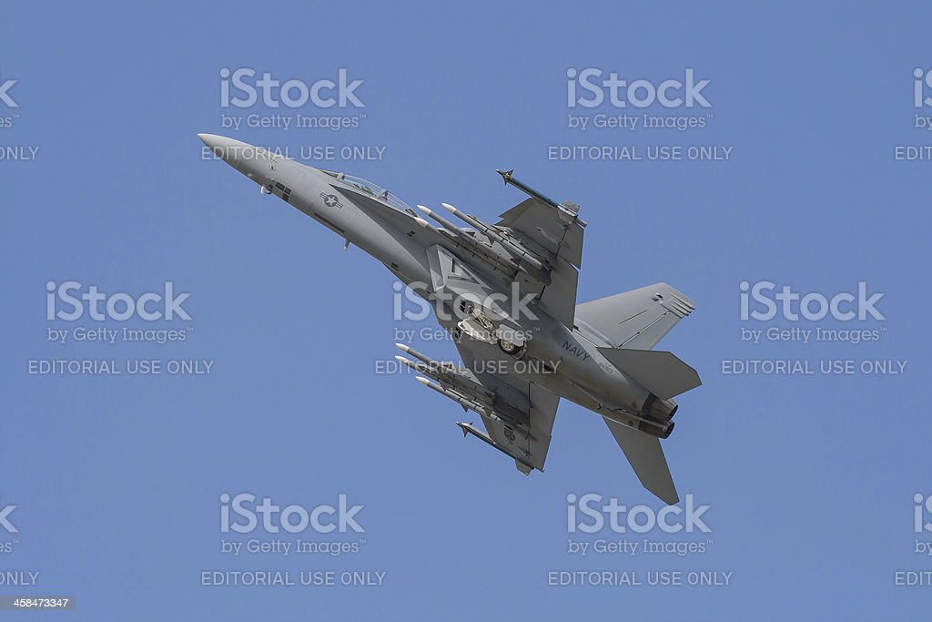 F18 Fighter royalty-free stock photo