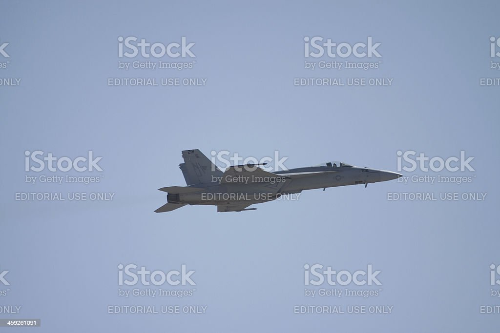 F/A-18 Fighter royalty-free stock photo