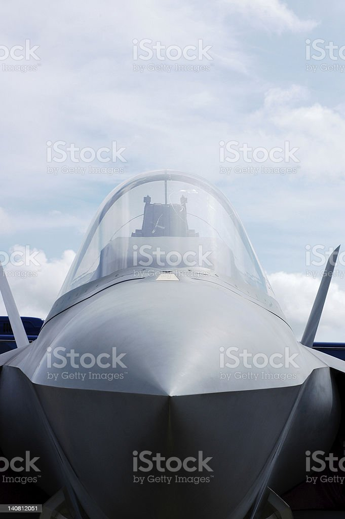 Fighter Plane royalty-free stock photo