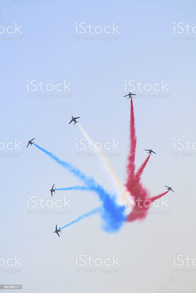 fighter squadron royalty-free stock photo
