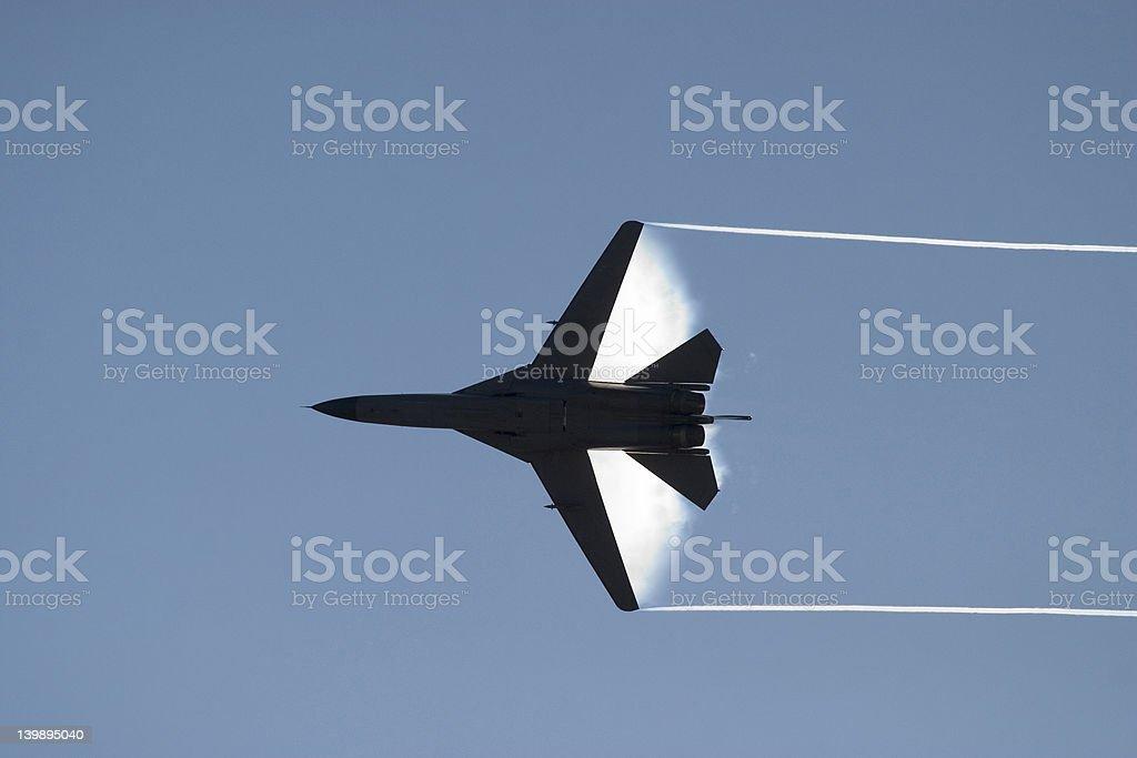 fighterjet stock photo